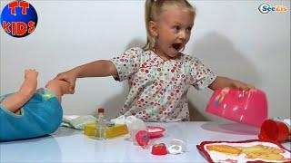 ✿ Baby Born Видео для детей Ярослава Распаковка Игрушки Baby Born Toy Videos Unboxing Серия 5 ✿