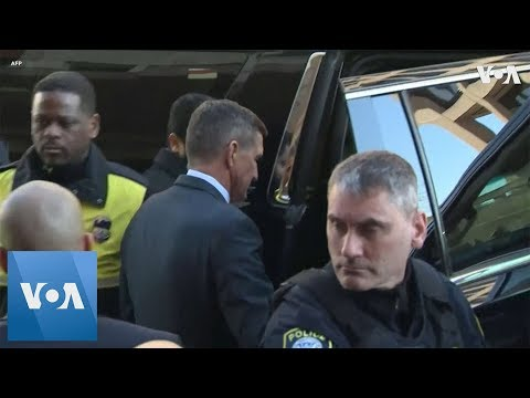 Flynn Leaves Court After Sentencing Postponed