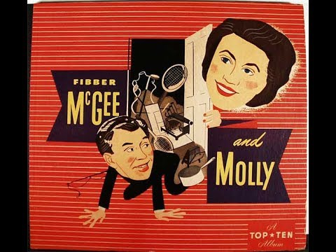 """Fibber McGee and Molly - """"Wallpapering the Dining Room""""  11/04/35  Old Time Radio Comedy"""