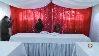 Образец оформления шатра для свадьбы