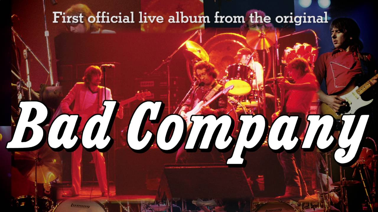 BAD COMPANY – Live 1977 & 1979 Video Trailer Posted