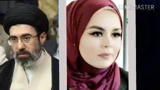 پسر مجتبی خامنه ای در  سوئد  لیلا حسینی افغانی کابلی زن مجتبی خامنه ای در سوئد