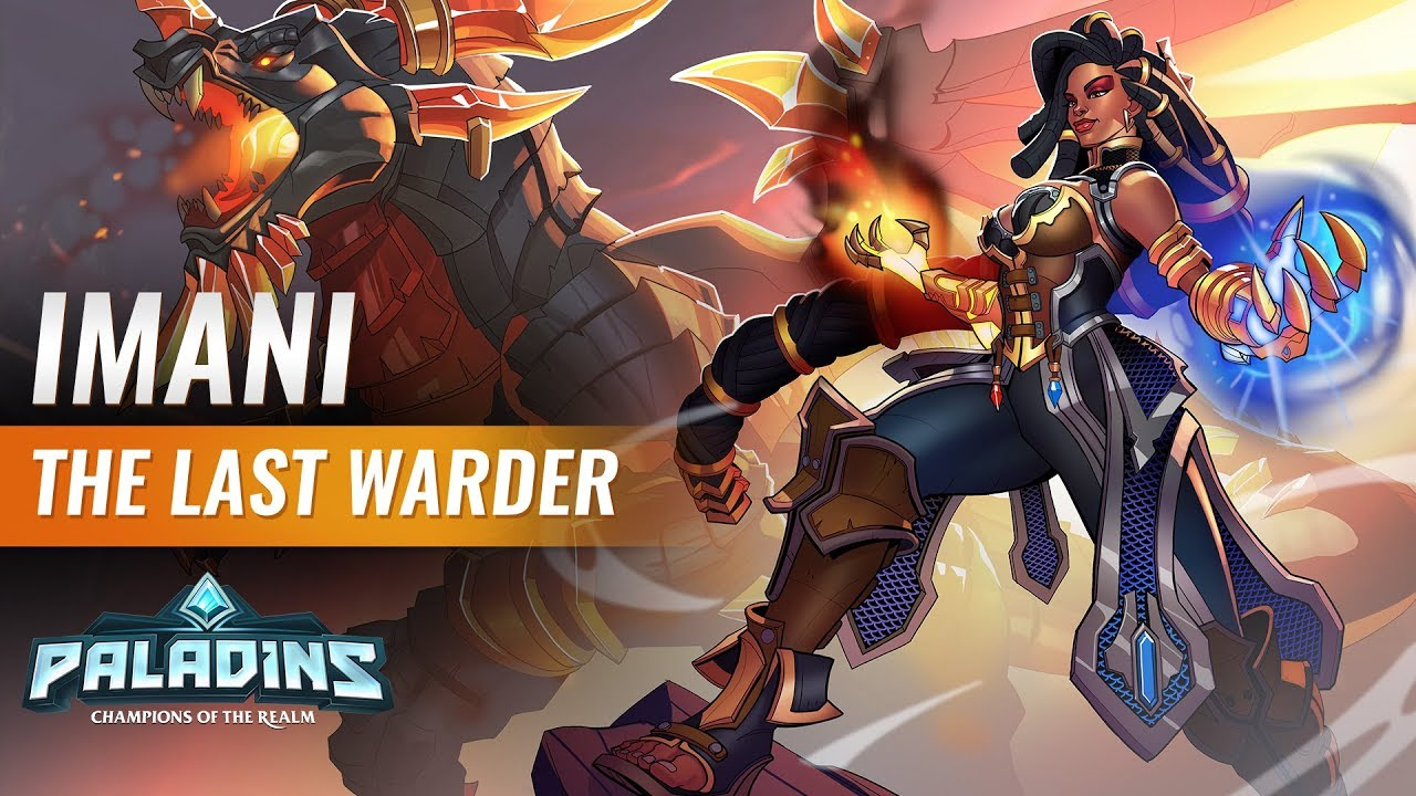 Paladins gets cross-play and a new hero who can summon a dragon