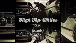 Zek - Hi Top Whites