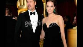 Brad & Angelina At  the  Academy Awards 2009