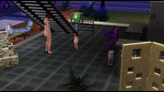 Sims 3: My sim uses the force to train her toddler!