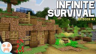 Hobbit Hill Base Transformation! | Infinite Survival Episode 3