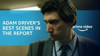 The Best of Adam Driver in The Report | Prime Video