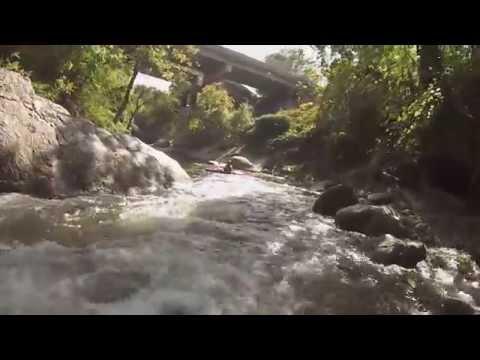 Jones Falls Kayaking aka White Water in the Hood