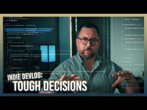 Making Tough Decisions For My Game | Indie Devlog