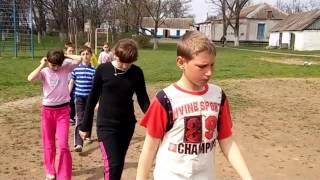 Урок фізичної культури з елементами футболу