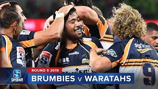 Brumbies v Waratahs | Super Rugby 2019 Rd 5 Highlights