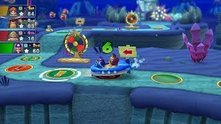 Mario Party 10 Mario Party #279 Donkey Kong vs Wario vs Waluigi vs Daisy Whimsical Waters Master