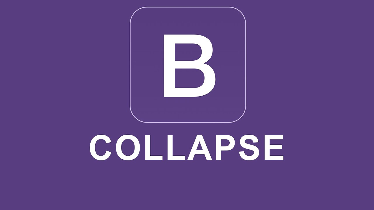 Bootstrap Collapse Toggle