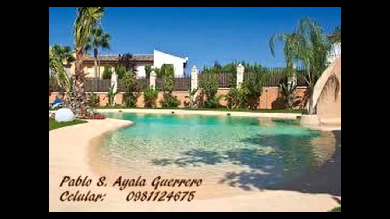 Piscinas tipo playa artificial con arena youtube for Hoteles en motril con piscina