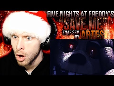 """Vapor Reacts #981   [SFM] FIVE NIGHTS AT FREDDY'S SONG ANIMATION """"Save Me"""" By Atres REACTION!!"""