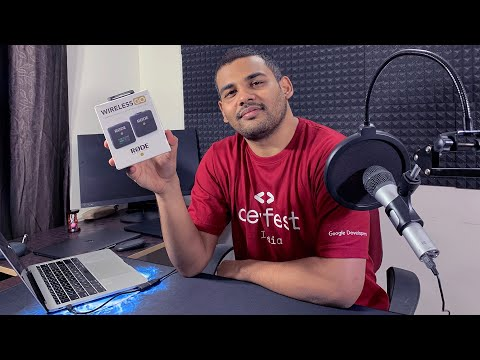 Rode Wireless GO Mic - Unboxing