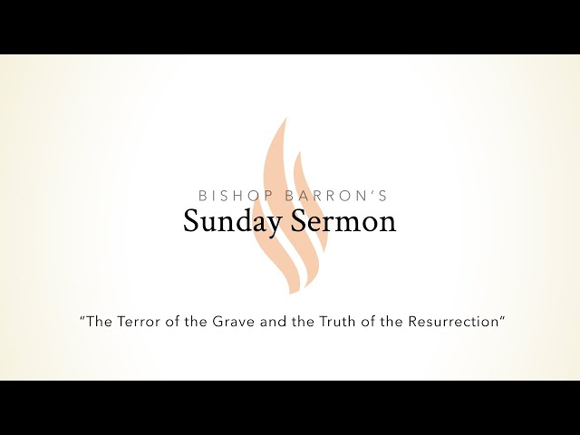 The Terror of the Grave and the Truth of the Resurrection — Bishop Barron's Sunday Sermon