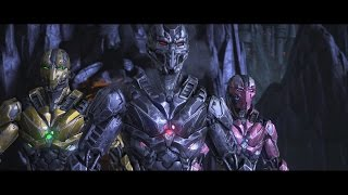 Mortal Kombat X : Triborg All Intro Dialogues (MKX)