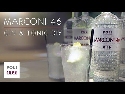 Come fare il Gin Tonic con MARCONI 46 - Poli Gin