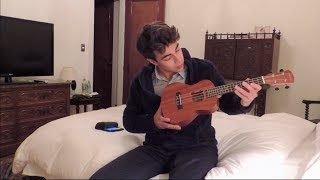 I.F.L.Y by BAZZI covered with a UKULELE (Aarik Ibanez)