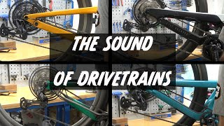The sound of drivetrains