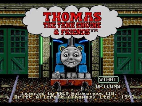 Mega Drive Longplay [413] Thomas the Tank Engine and Friends