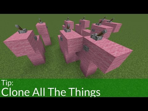 How to Clone Stuff in Minecraft
