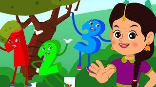 Bamchiki Bam Hindi Rhymes | Hindi Nursery Rhymes | Hindi Balgeet | बमचिकी बम हिंदी कविता