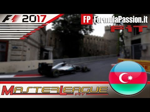 Master League FormulaPassion.it  F1 2017 #08 GP Azerbaijan Baku 07.12.17 - Live Streaming 1080p [2]