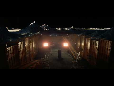 2001: A Space Odyssey - The Monolith On The Moon