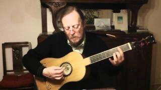 Robert de Visée - Menuet I - Baroque guitar