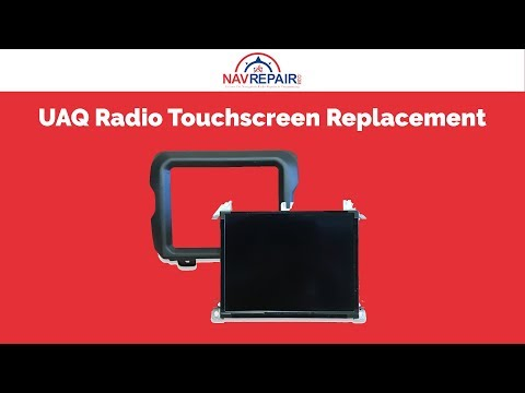 Chrysler, Dodge, Jeep & Ram UAQ Radio Touchscreen Replacement - NavRepair.com