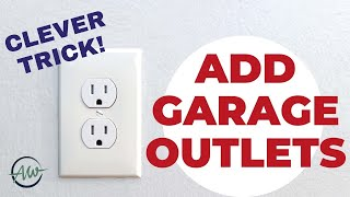 How To Easily Aḋd New Outlets To Existing Walls | DIY With No Wall Repair!