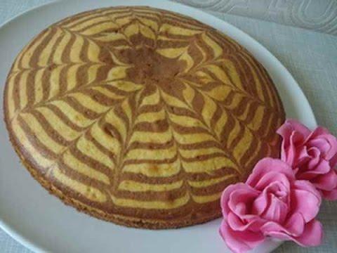 Пирог Зебра в мультиварке рецепт приготовления