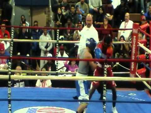 Emmanuel Nieves vs Kenneth Sims Jr 2012 Olympic Trials