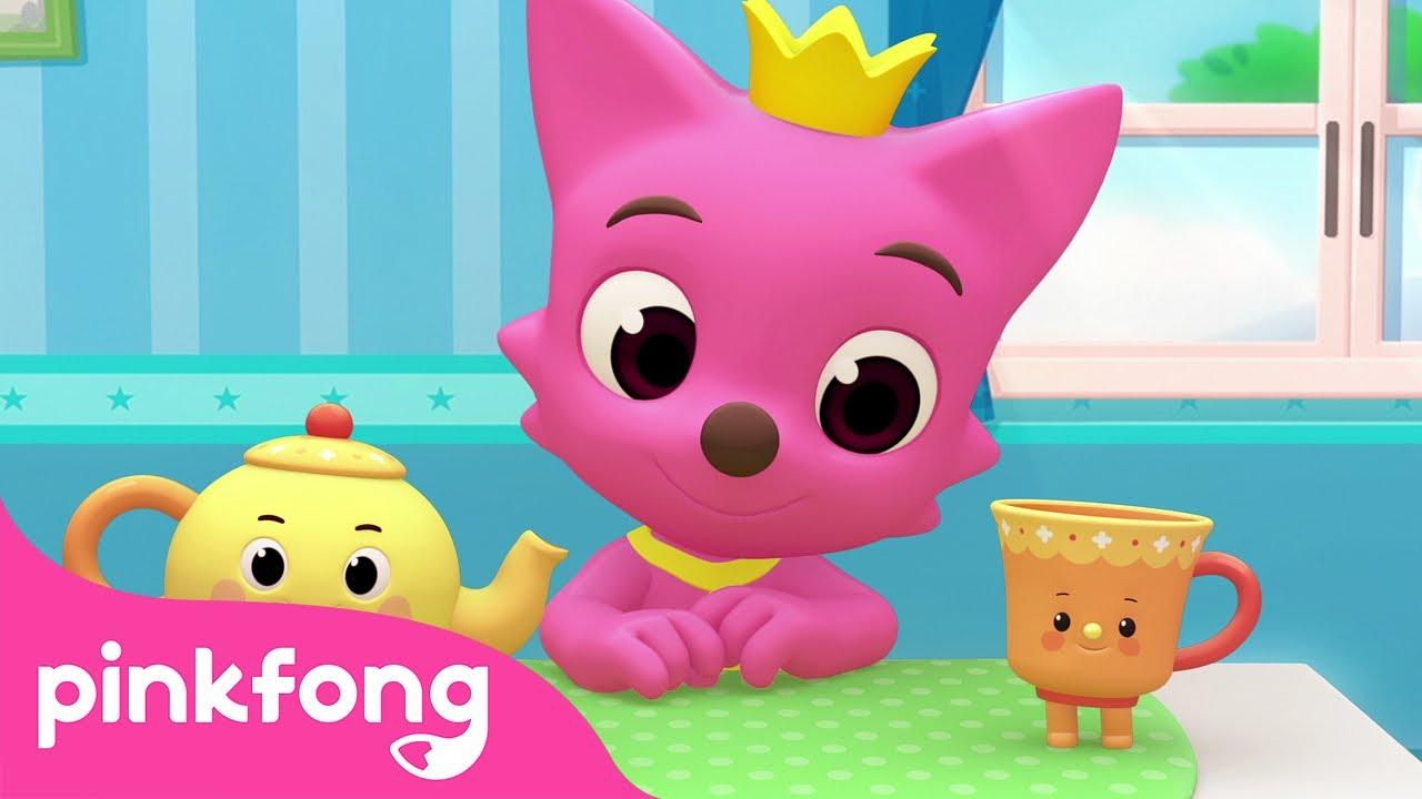 I'm a Little Teapot | Dance Dance | Nursery Rhyme | Pinkfong Songs for Children