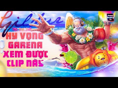 LIÊN QUÂN | Anh già Gildur - Tiệc Bãi Biển lần đầu tiên xuất hiện tại kênh FUNNY GAMING TV