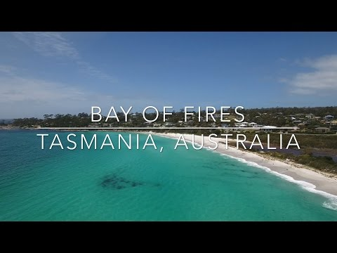 Our World by Drone in 4K - Bay of Fires, Tasmania, Australia