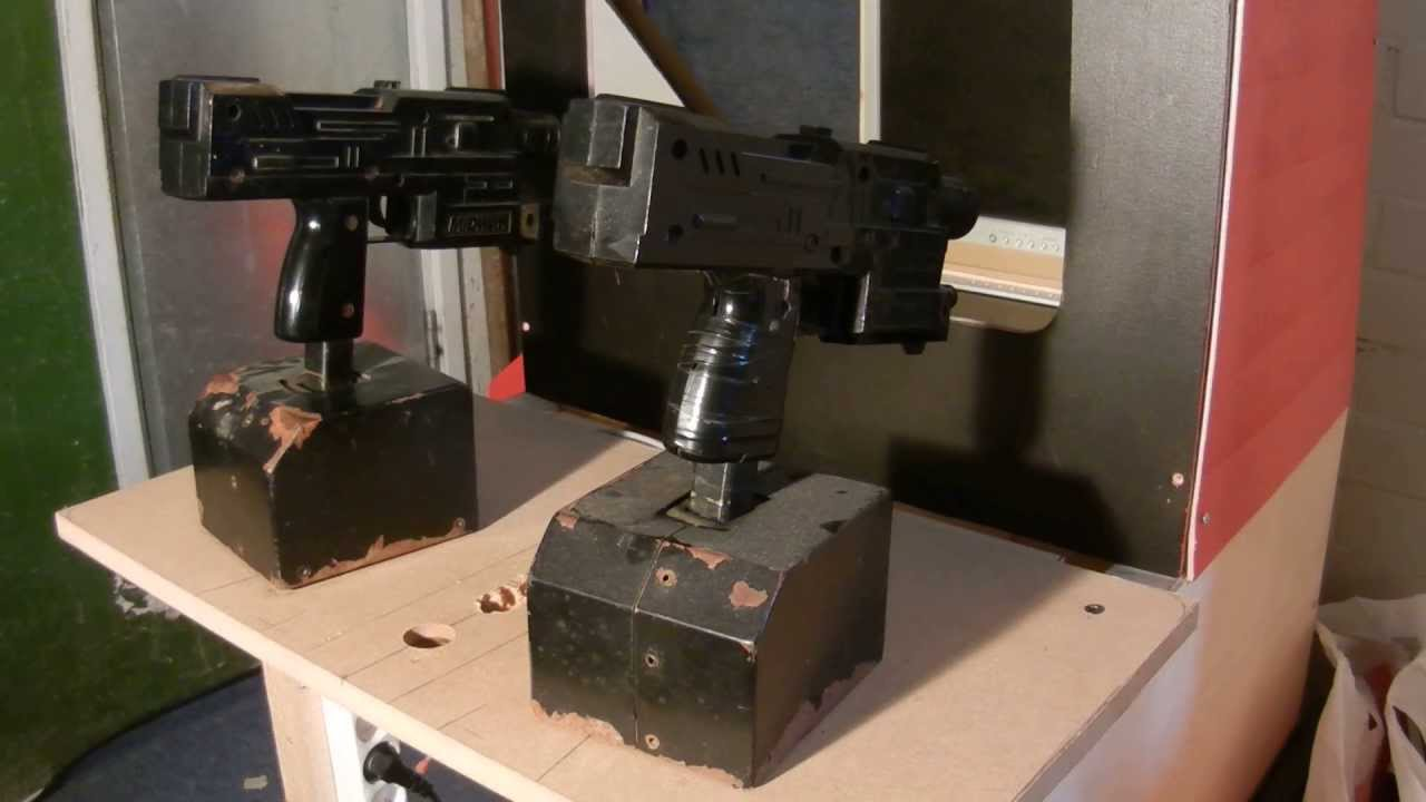 ARCADE LIGHT GUN CAB - YouTube