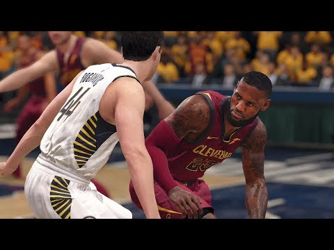 NBA Live Playoffs 2018 Cleveland Cavaliers vs Indiana Pacers Full NBA Game Highlights | NBA LIVE 18