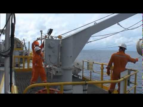 offshore hook up procedure