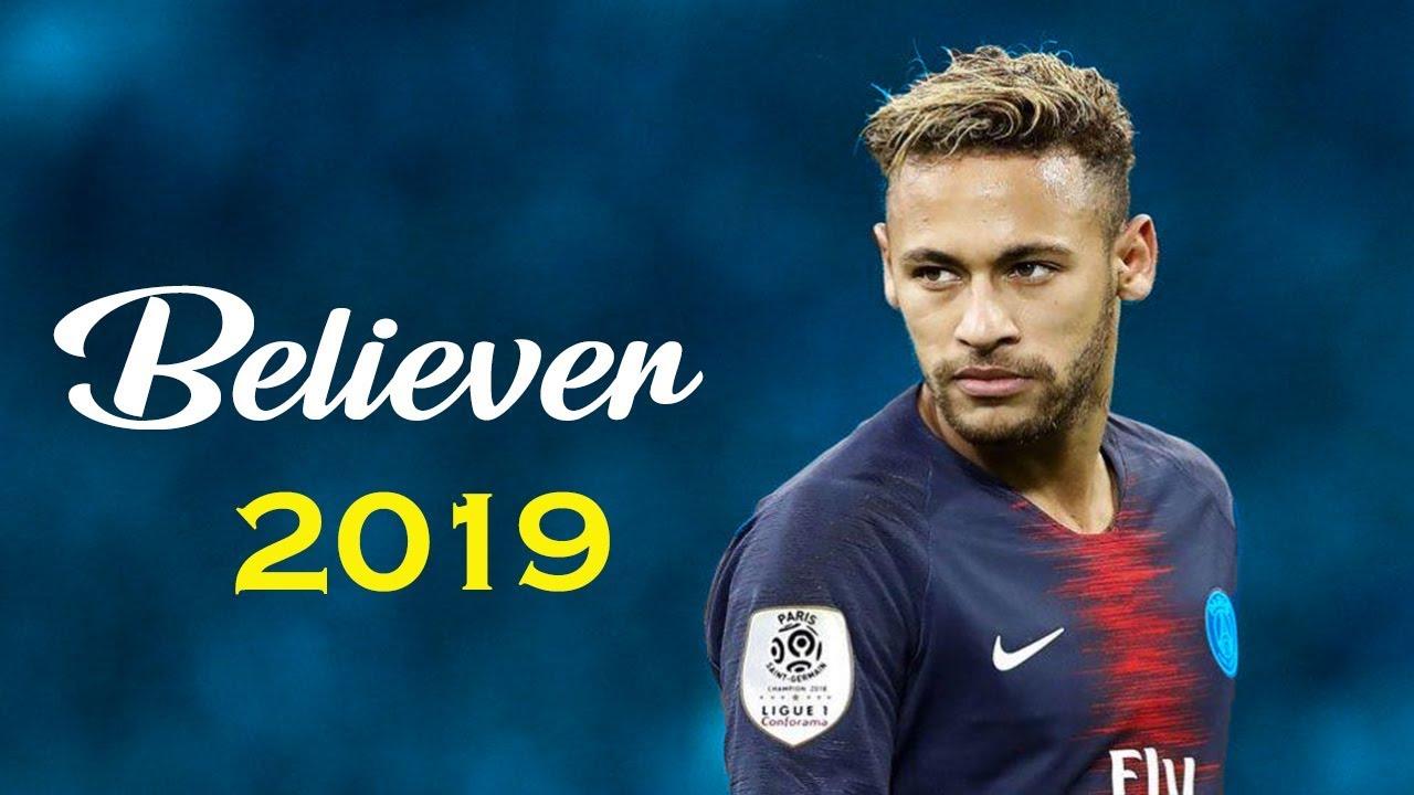Neymar Jr. Believer Skills & Goals 2018/2019 (HD)