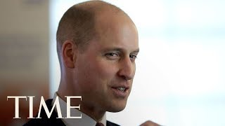 Prince William Debuts A New Haircut At The Evalina London Children's Hospital | TIME