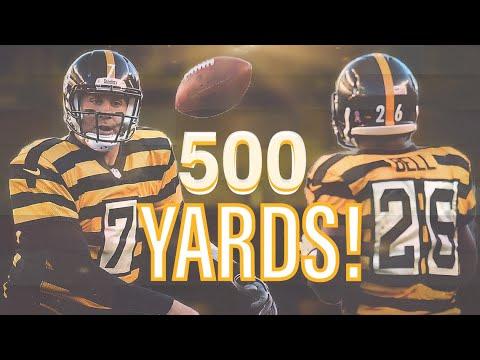 All THREE Ben Roethlisberger 500 Yard Games
