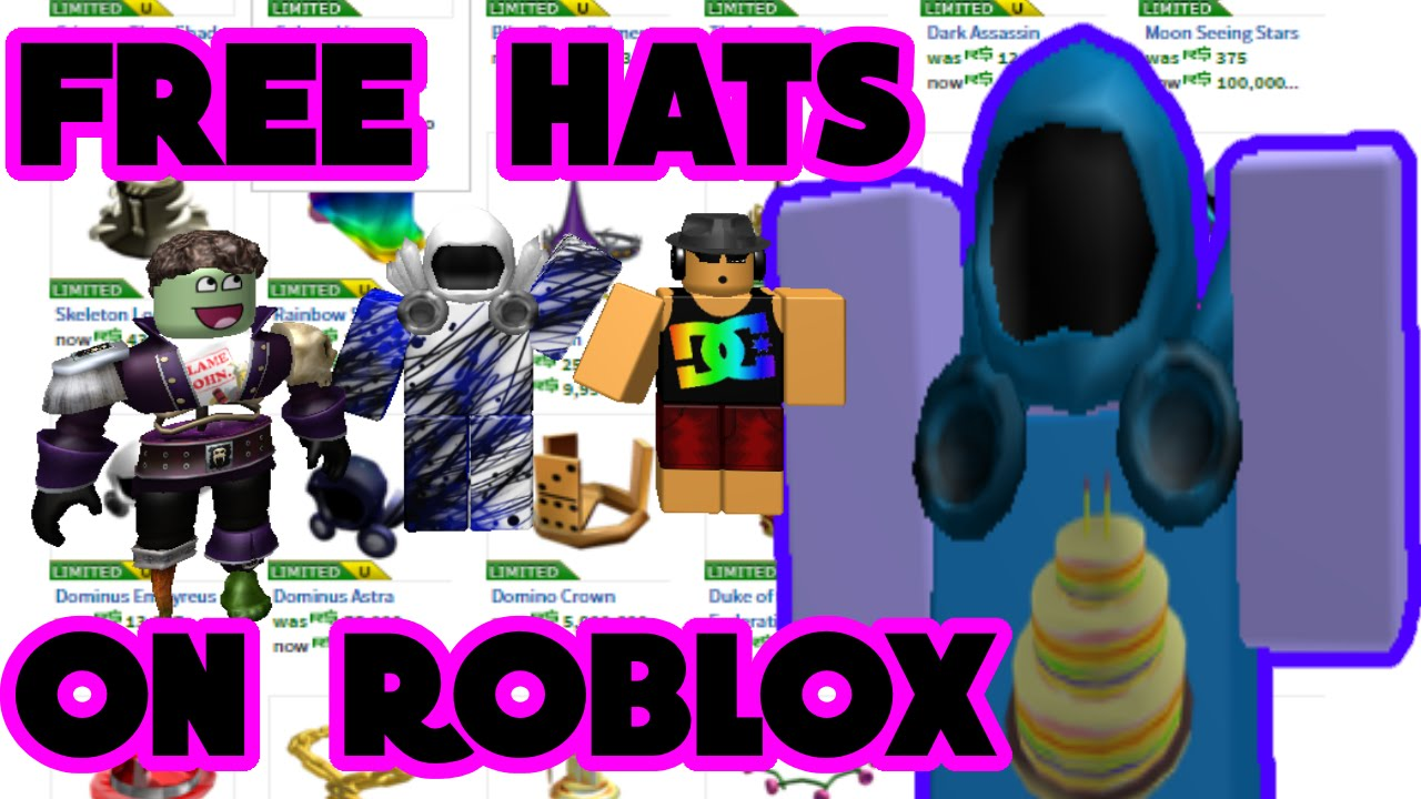 free roblox hats 2019