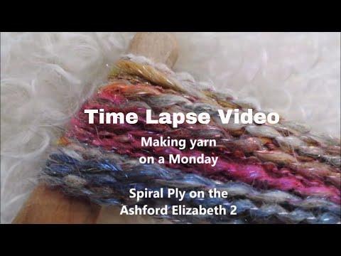 Making yarn on a Monday.