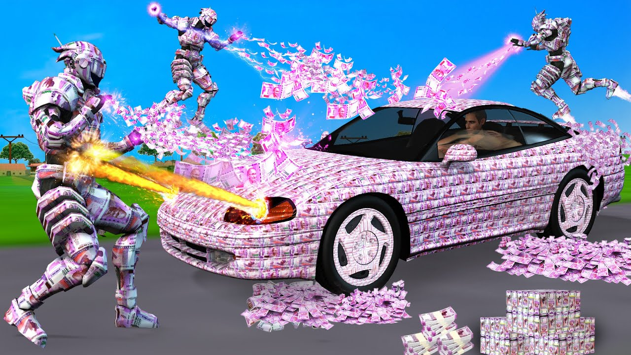 जादुई मनी कार रोबोट Magical Money Car Robo Hindi Kahaniya Stories हिंदी कहनिया Hindi Comedy Video