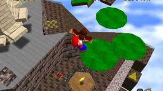 Super Mario 64 - Star Guide #20 - Fall Onto the Caged Island