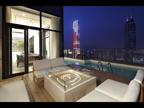 Amazing Duplex Penthouse in China by Kokaistudios | HD